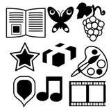 Icons set Stock Photo