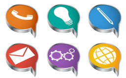 Icons 4 Royalty Free Stock Photography
