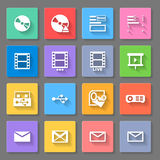 Icons Royalty Free Stock Photos