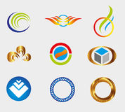 Icons Set Isolated symbol element Graphic Design Editable For Your Design Business symbol Collection Stock Image
