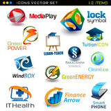 Icons- set Royalty Free Stock Photography