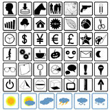 icons set Vector Royalty Free Stock Image