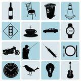 icons set Vector Royalty Free Stock Photography
