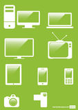 Icons Set for Web Applications, Stock Photos