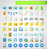 Icons Set for Web Applications, Office icons. Universal icons Set Stock Photo
