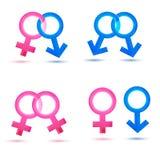 icons sex 免版税库存图片
