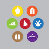 Icons for shop Royalty Free Stock Photo