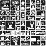 Icons shop Royalty Free Stock Photo