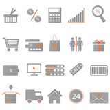 Icons Shopping Stock Images