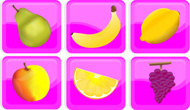 Icons for a site Royalty Free Stock Images