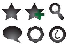 Icons. Stock Image