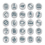 Icons sketches for the site Stock Images
