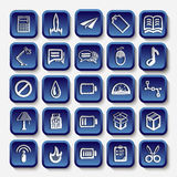 Icons sketches for the site Stock Photography