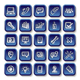 Icons sketches for the site Royalty Free Stock Image