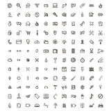 Icons sketches for the site Stock Photo