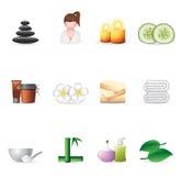icons spa Ιστός Στοκ Φωτογραφίες