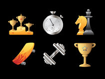 Icons for sport Stock Image