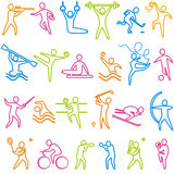 Icons, Sport Stock Images