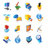 Icons for technology Stock Photography