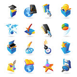 Icons for technology Royalty Free Stock Image