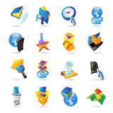 Icons for technology Royalty Free Stock Images