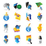 Icons for technology. And computer interface. Vector illustration Stock Photography