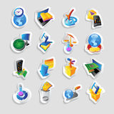 Icons for technology and interface Royalty Free Stock Photo