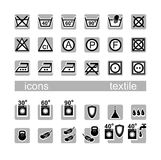 Icons, textile Royalty Free Stock Photo