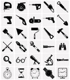 Icons of tools and devices Royalty Free Stock Images