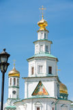Icons of the tower gate of the temple of the Resurrection New Jerusalem Monastery Royalty Free Stock Image