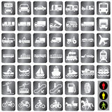 Icons transport Royalty Free Stock Photo