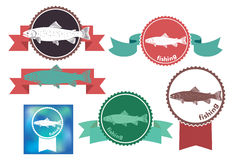Icons  trout Stock Image