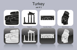 Icons of Turkey Stock Photo