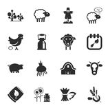 16 icons universal set for web and mobile. Flat Royalty Free Illustration
