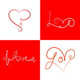 Icons-for-Valentines-day-2 Royalty Free Stock Photo