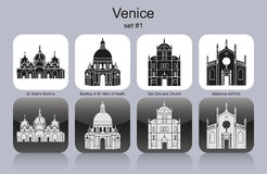 Icons of Venice Stock Photo