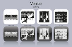Icons of Venice Stock Image