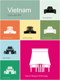 Icons of Vietnam Stock Photos
