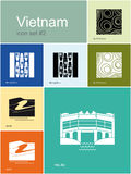 Icons of Vietnam Stock Photography