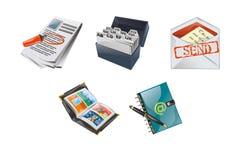 Icons web 2.0 style Stock Photo