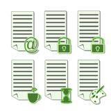 Icons for web (2) Royalty Free Stock Photo