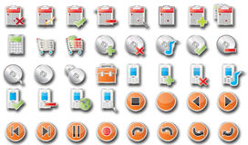 Free Icons Web Royalty Free Stock Photo - 4089415