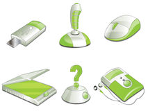 Icons web Stock Images