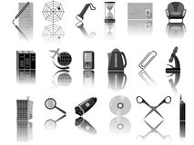 Icons for web. The designer in a vector Stock Images