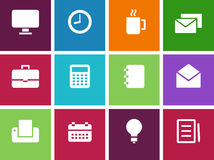 Icons for web Stock Image