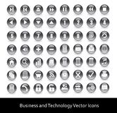 Icons for web, business and technology Royalty Free Stock Images