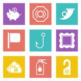 Icons for Web Design set 14. Icons for Web Design and Mobile Applications set 14. Vector illustration Royalty Free Stock Photography