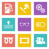 Icons for Web Design set 19. Color icons for Web Design and Mobile Applications set 19. Vector illustration vector illustration