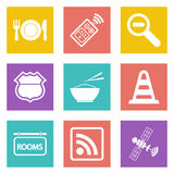 Icons for Web Design set 24 Stock Image