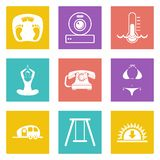Icons for Web Design set 10 Royalty Free Stock Images